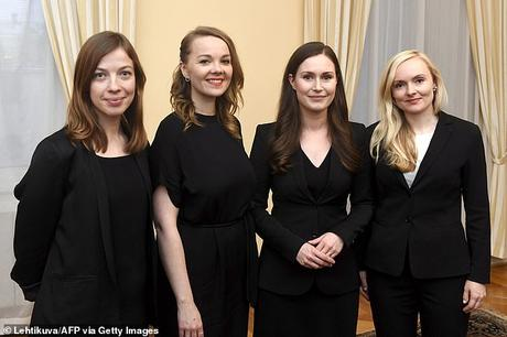 Finland Prime Minister marries ..  ..      .........