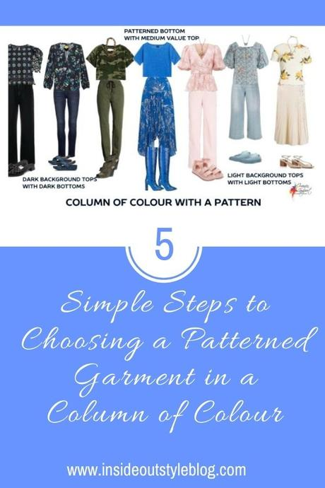 5 Simple Steps to Choosing a Patterned Garment in a Column of Colour