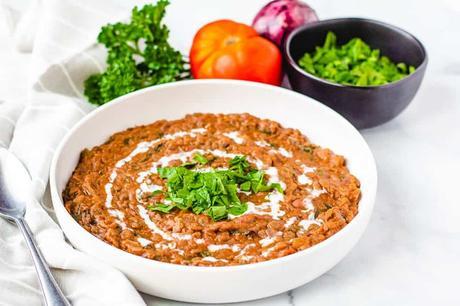Dal Makhani Recipe (Healthy, Vegan)