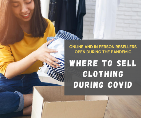 Where to Donate and Sell Clothes During COVID
