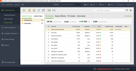 SEO PowerSuite: All-in-one SEO Optimization Software