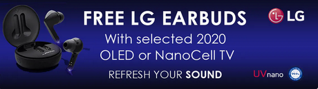 NanoCell OLED Free Earbuds!