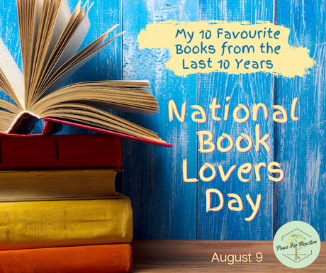 August 9 is National Book Lovers Day: Top 10 books of the last decade