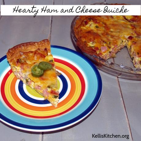 Hearty Ham and Cheese Quiche