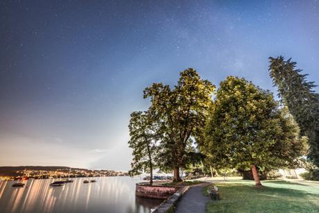 The Milky Way above Zurich