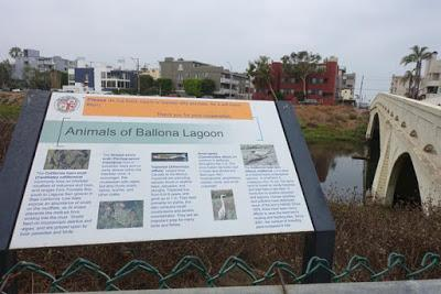 BALLONA LAGOON NATURE WALK, Marina Del Rey, CA
