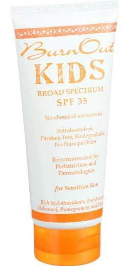 20 Chemical Free Sunscreens for Babies and Children