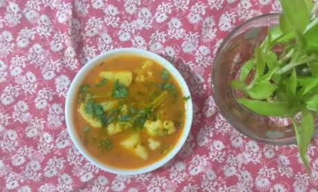 Authentic Sindhi Curry enriched with Vitamin C for boosting your immunity during Lockdown