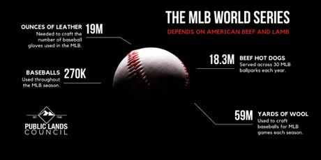 Infographic: Beef, Lamb, and Baseball