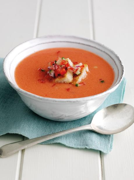 Simple Chilled Gazpacho