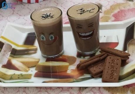 Ragi Milk Shake Recipes for Kids in 3 Irresistible Flavors