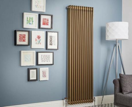 Windsor bronze vertical radiator