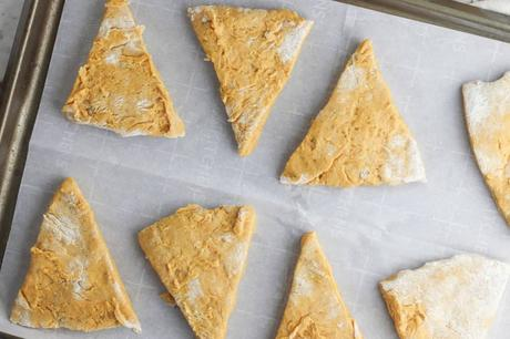 Healthy Vegan Scones with Pumpkin