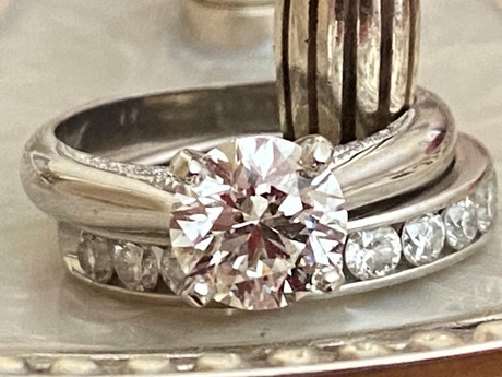 A 1.7ct Upgrade For A 17th Anniversary