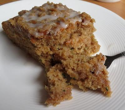 Small Batch Zucchini Coffee Cake