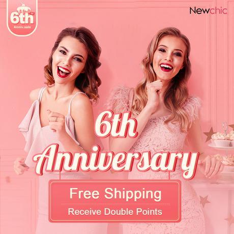 Newchic 6th anniversary sale 2020