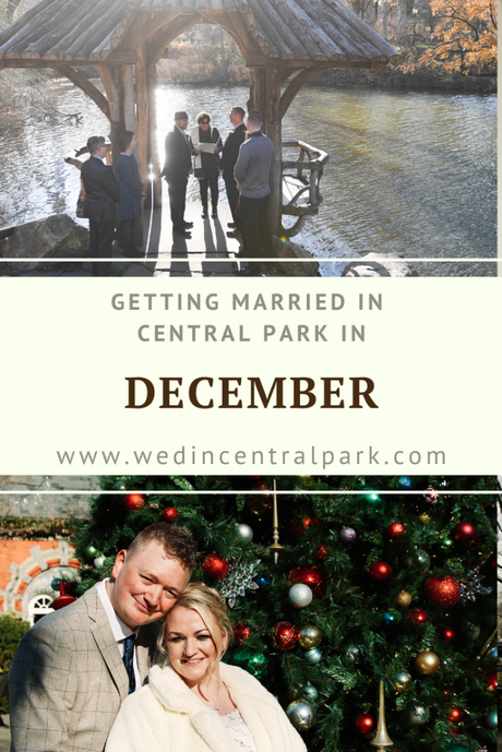 Getting Married in Central Park in December