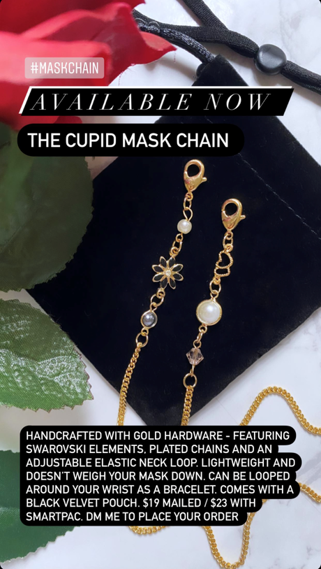 [Launch / For Sale] Handcrafted Mask Chains for sale