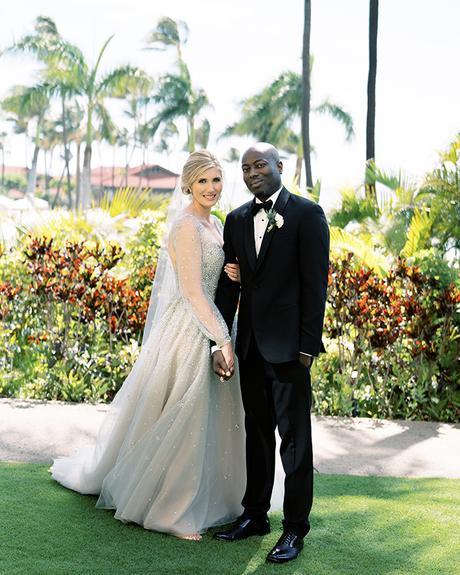 Gorgeous chic romantic wedding in Hawaii │Harmony & Bayo