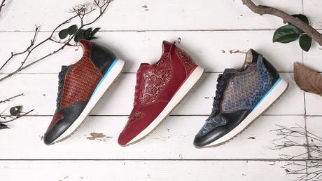 SOCOFY Grid Sneakers