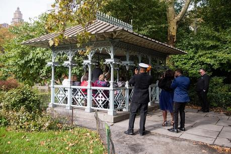 Caryn and Kristopher's Fall Wedding in the Ladies' Pavilion