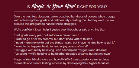 Magic In Your Mind Review 2020:  Does Bob Proctor's Course Work?
