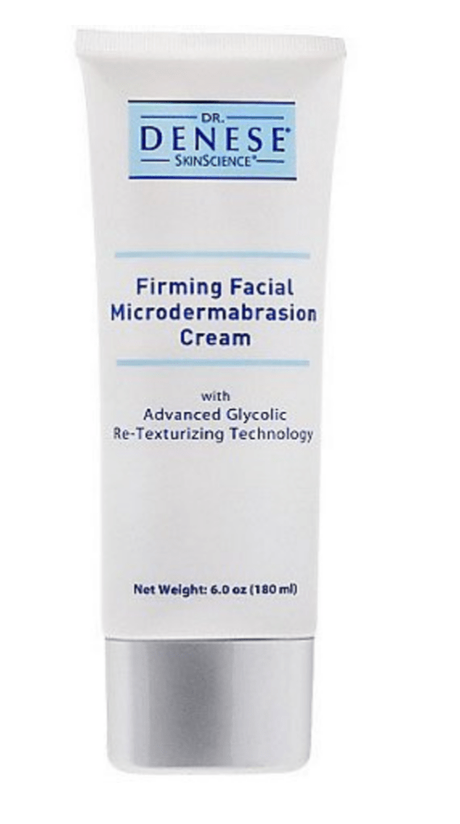 Remove Blackhead by using Dr. Denese Firming Facial MicroDermabrasion Cream
