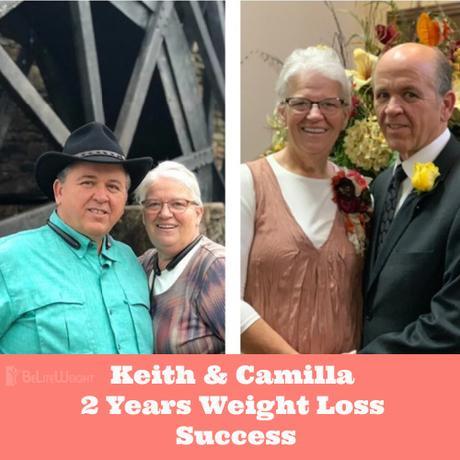 Keith & Camilla 2 Years Wight Loss Success