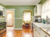 Glorious Ways Green Kitchen