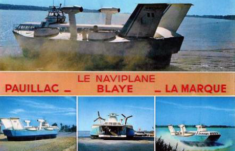 The Gironde estuary hovercraft story and the Pauillac connection