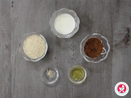 No Sugar Sweet Milk Rice Recipe [Easy homemade Milk Rice for Kids]