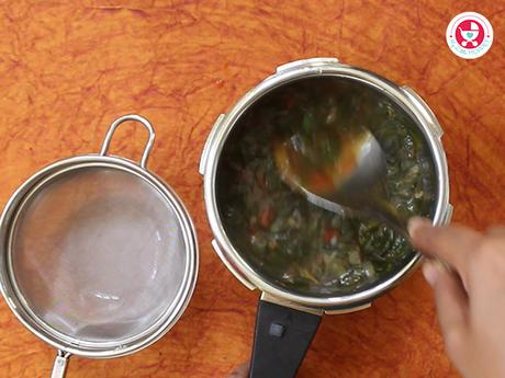 Moringa soup for babies [Immunity Boosting iron-rich soup recipe]