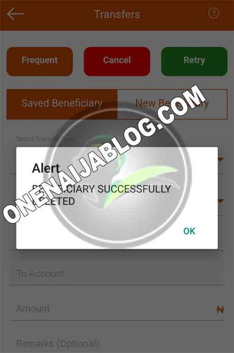 How To Delete Beneficiaries From GTWorld App