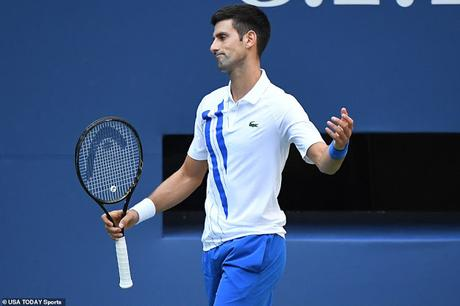 Novak Djokovic disqualified !  .. .. and his fans act mercilessly insane !!