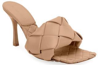 Shoe of the Day | Bottega Veneta Puffy Intreccio Square Mules