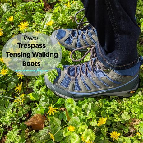 Trespass walking boots REVIEW