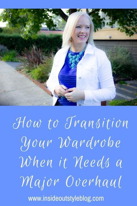 How to Transition Your Wardrobe When it Needs a Major Overhaul