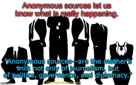 Anonymous Sources Are Critical To Our Democracy