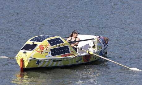 Lia Ditton Completes Pacific Ocean Row