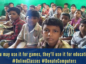 Donate Laptops Computers Poor Students India
