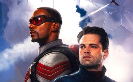 The Falcon and the Winter Soldier: See Anthony Mackie in costume