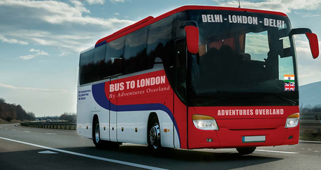 What Does a Bus Trip From London to India Look Like?
