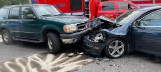 The SUV driver who hit attorney Burt Newsome in head-on crash that caused grave injuries works for Norfolk Southern, which has ties to Balch Bingham