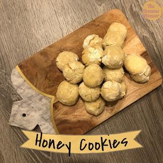 Honey Cookies ~ The Dreams Weaver