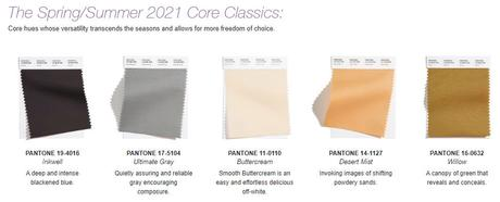 Pantone Fashion Color Trend Report Shows Hottest Shades for S/S 2021