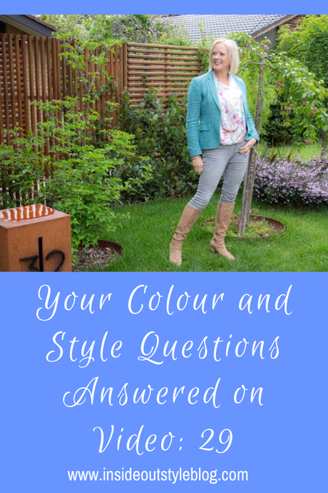 Your Colour and Style Questions Answered on Video: 29