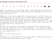 Blogger Template Absolutely Awful