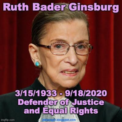 Defender Of Justice, Ruth Bader Ginsburg, Has Died