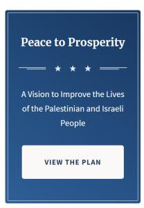 Peace Process by Economic Approach
