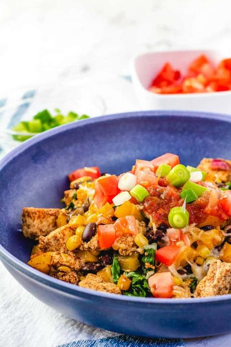 Tofu Scramble Recipe with Southwestern Spices